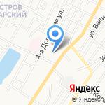 Средняя общеобразовательная школа №74 им. Г. Тукая на карте Астрахани