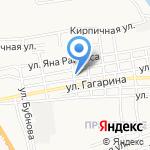 Наримановская районная ветеринарная станция на карте Астрахани