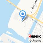 Бережок на карте Астрахани