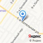 Астра-ринг на карте Астрахани