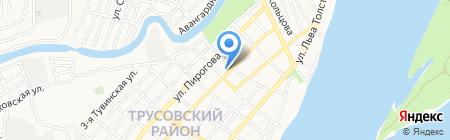 Областной кожно-венерологический диспансер на карте Астрахани