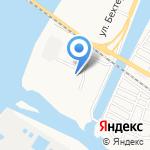 Царев на карте Астрахани