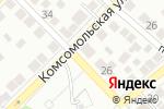 Схема проезда до компании София в Астрахани