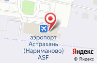 Схема проезда до компании Джул.И в Астрахани
