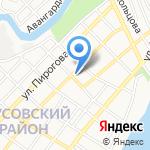 Тысяча и одна ночь на карте Астрахани