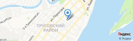 Храм Преображения Господня на карте Астрахани
