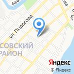 Добротолюбие на карте Астрахани