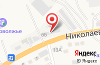 Схема проезда до компании Мастер-Класс в Солянке