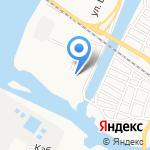 Застава-А на карте Астрахани