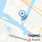 Центр технического обслуживания на карте Астрахани