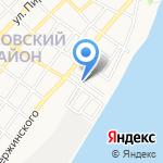 Печки и Лавочки на карте Астрахани