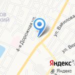 НЭК на карте Астрахани