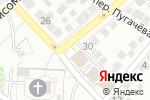 Схема проезда до компании Весна в Астрахани