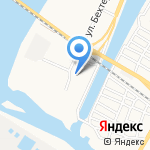 Метролог на карте Астрахани