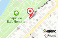 Схема проезда до компании ТехРесурс в Астрахани