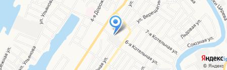 Каспийдизельтранс на карте Астрахани