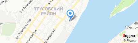 Купель Здоровья на карте Астрахани