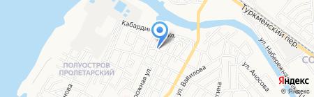 Мечеть №23 на карте Астрахани