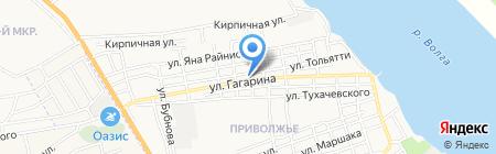 Почтовое отделение №50 на карте Астрахани