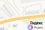 Схема проезда до компании Автостоянка для грузовых автомобилей в Солянке