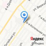 Подворье на карте Астрахани