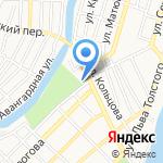 Вигеро на карте Астрахани
