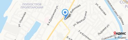 Мото-Диалог на карте Астрахани