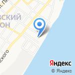 Трусовский районный суд на карте Астрахани