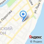 КранТехСервис на карте Астрахани