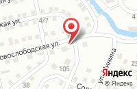 Схема проезда до компании Мишутка в Астрахани