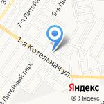 Транспортно-экспедиторская фирма на карте Астрахани