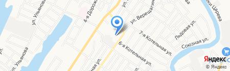 МИГ-АУТСОРСИНГ на карте Астрахани