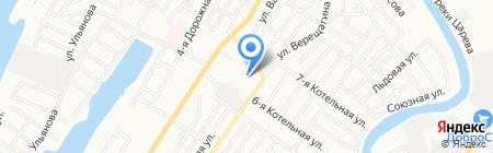 Детский сад №46 на карте Астрахани