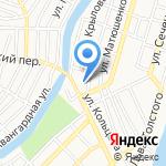 Трусовский хлебозавод на карте Астрахани