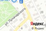 Схема проезда до компании Фавор в Астрахани