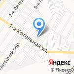 Custom Line на карте Астрахани