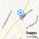 Скатерть-самобранка на карте Астрахани