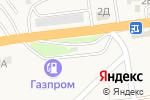 Схема проезда до компании Шиномонтажная мастерская в Пригородном