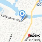 В.А.Ш. на карте Астрахани