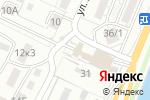 Схема проезда до компании Автосервис в Астрахани