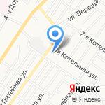 Астраханский дом-интернат для престарелых и инвалидов на карте Астрахани