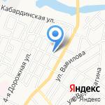 Школа №74 им. Габдуллы Тукая на карте Астрахани