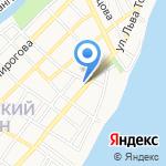 Ева на карте Астрахани