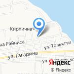 Участковая ветеринарная лечебница Трусовского района на карте Астрахани