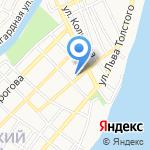 Почтовое отделение №6 на карте Астрахани