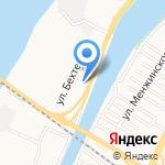 ФИШ-ка на карте Астрахани
