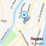 Отдел полиции №3 на карте Астрахани