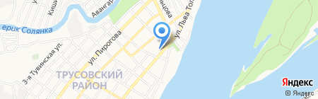 Банкомат Евро-Азиатский Торгово-Промышленный банк на карте Астрахани