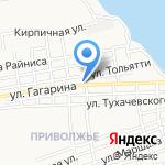 Центр гигиены и эпидемиологии по Астраханской области в Наримановском на карте Астрахани