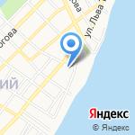 Отдел Военного комиссариата Астраханской области по г. Астрахани на карте Астрахани